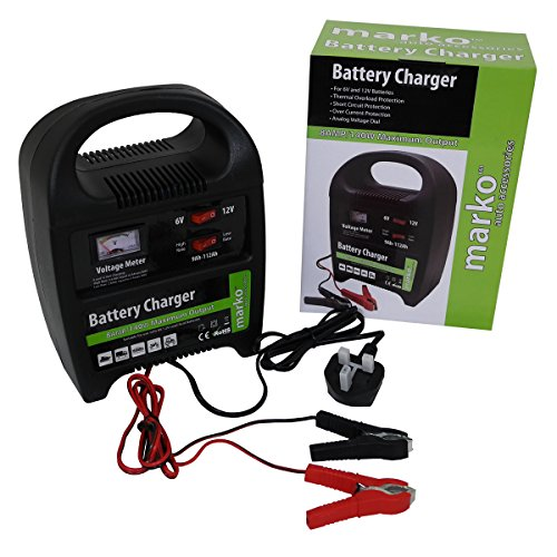 510P8WvKL4L - BEST BUY# 8AMP 6V/12V Heavy Duty Vehicle Battery Charger Car Van Compact Portable Electric Reviews and price compare uk