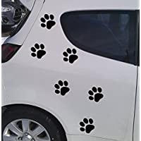 Folienaufkleber ***Hunde Pfoten Set*** (Größen und Farbwahl)