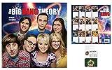 Set: Big Bang Theory, Offizieller Poster Kalender 2018 (30x30 cm) Inklusive 1x EC-Kartenhülle Kartenetui Für Fans Und Sammler (10x7 cm)