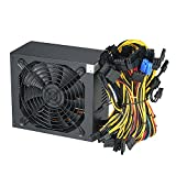 KKmoon Alimentatore Switching 1800W Alta Efficienza 90% per Ethereum S9 S7 L3 Rig Mining 180-260V (3)