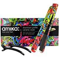 lisseur Downtown Graffiti 1.25 Ceramic Styler Amika