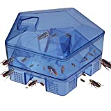 Romino Cockroach Catcher Falling Box for Cockroaches Bugs Spiders Rodents and Other Insects