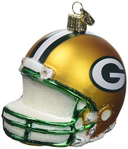 Old World Weihnachten 71217Green Bay Packers Helm Christbaumschmuck aus Glas
