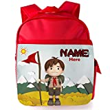 Personalised Children's Backpack Boy Cub Scout Camping St105 - Best Reviews Guide