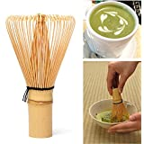 64 Matcha Green Tea Powder Whisk Matcha Bamboo Whisk Bamboo Chasen Useful Brush Tools Kitchen Accessories
