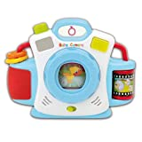 Bontempi Baby Fotoapparat / Kamera für Babys mit Musik und Licht-,Klangeffekten