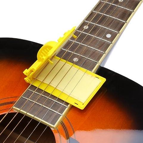 zophorsmall y exquisita guitarra rápida-Set limpiador de cuerdas graves de Amarillo de partes de guitarra y