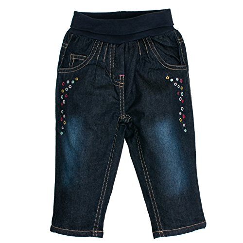 SALT AND PEPPER Baby-Mädchen Jeans B Funny, Blau (Original 099), 92