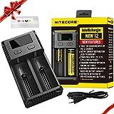 Nitecore I2 EU 2016 intelligente i2 18650 Li-ion / Ni-MH / Ni-Cd Chargeur de batterie