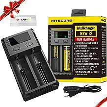 Nitecore NC-i2 Cargador universal Baterías y cargadores