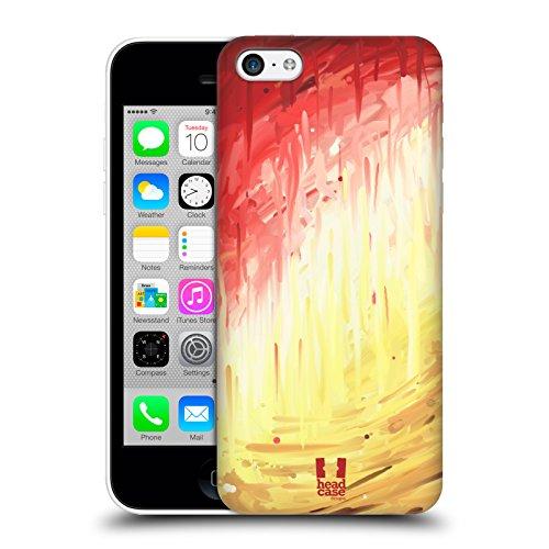 Head Case Designs Faire Valoir Peintures Aléatoires Étui Coque D'Arrière Rigide Pour Apple iPhone 5 / 5s / SE Colère