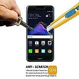 [3 Pièces] Verre Trempé pour Huawei P8 Lite 2017, Vada-Tec Film Protection en Verre trempé écran Protecteur Vitre- ANTI RAYURES - SANS BULLES D'AIR -Ultra Résistant Dureté 9H - Compatible 3D Touch