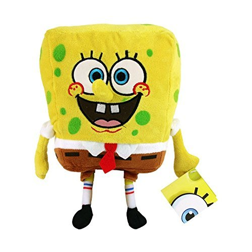 Bob Esponja Normal Supersoft 30cm Muñeco Peluche Serie dibujos Spongebob TV