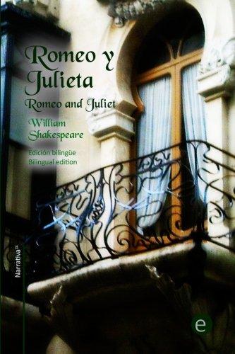 Romeo y Julieta: Edición bilingüe/Bilingual edition: Volume 20 (Biblioteca Clásicos bilingües) por William Shakespeare