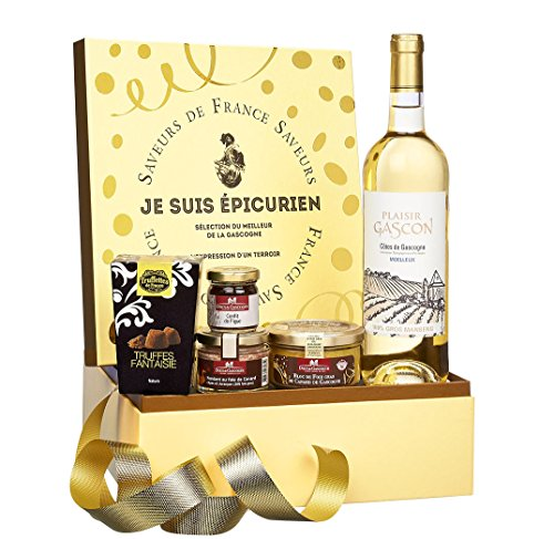 """Ducs de Gascogne - """"Je suis épicurien"""" - comprend 5 produits classiques pour les fêtes - spécial cadeau de Noël"""
