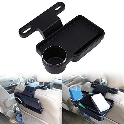 RONSHIN Auto Drink Essen Cup Tray Auto Rücksitz Tisch Falten Innenwasser Kaffee Halter Standplatz (Cup Halter Falten)