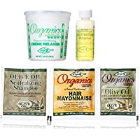 Organics, Olive Africa's Best, Organic Olive Oil Conditioning Relaxer Kit, Regular by Atlas Supply Chain Consulting Services