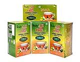 #5: Pack Of 4 All in One Herbal Lemon Green Tea Sugar -Less(100 Tea Bag )