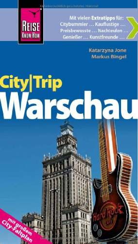 Reise Know-How CityTrip Warschau: Reiseführer mit Faltplan