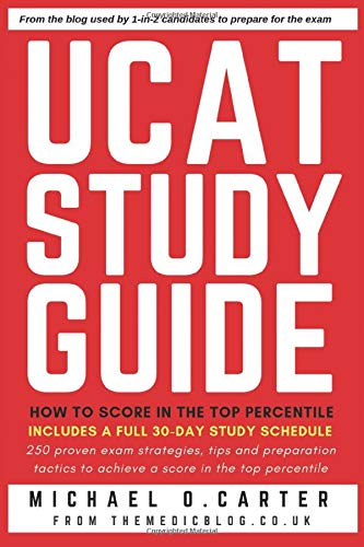 UCAT Study Guide: How to Score in the Top Percentile Carters Top