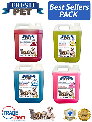 Trade Chemicals 20L FRESH PET Pet Disinfectant Eco Refill, Cleaner, Deodoriser Pack