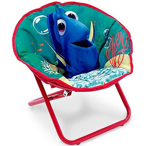 Disney© Kinderstuhl Baby Stuhl Sessel rund weich gepolstert Camping Urlaub Klappstuhl DORY