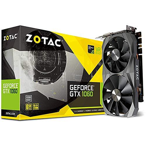 ZOTAC GeForce GTX 1060 DirectX 12 6GB 192-Bit GDDR5X Graphics Card (ZT-P10620A-10M)