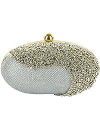 Tooba Women's Crystal Egg Box Clutch