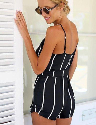 GSP-blanc / noir combinaison des femmes, occasionnel white-xl