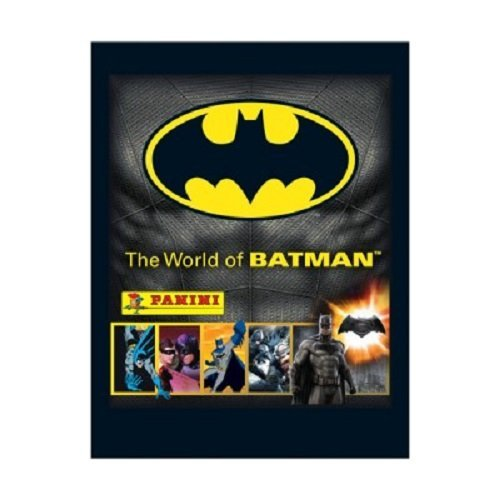 10x Panini The World Of Batman Collection Sticker Pack by The World Of Batman