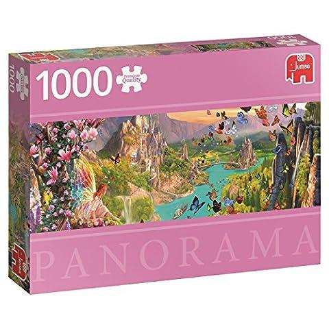 Jumbo Jumbo Premium Puzzle Collection 'Fairyland' 1,000 Piece Panoramic Jigsaw Puzzle