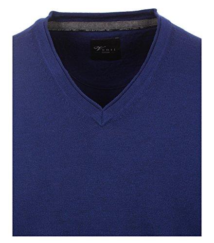 Michaelax-Fashion-Trade -  Camicia classiche  - Basic - Maniche lunghe  - Uomo Blau (143)