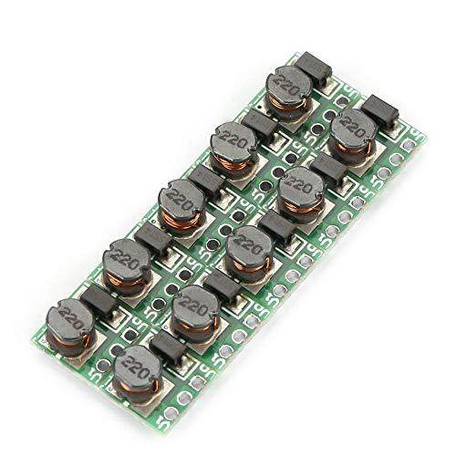 Spannung Strom Wandler (DC-DC 0,9-5V bis 5V Aufwärts Wandler Modul Spannungs Regler T64 Einstellbare Strom Versorgungs Modul Platine 10 Stücke)