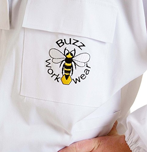 Buzz Workwear Beekeepers Tunic with fencing/astronaut veil -2XL 7