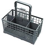 Universal Cutlery Basket Fits Bosch/ Hotpoint/ Neff/ Siemens/ Smeg Dishwasher, Grey