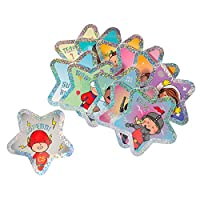 C.S. Kids Sparkling Superstars Stickers (Pack of 36)