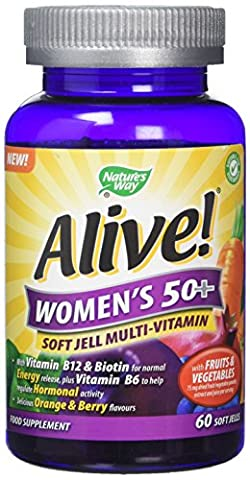 Alive 50 Plus Women Soft Jells - Pack of 60
