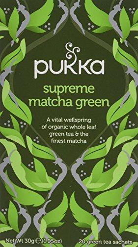 Pukka Tea Supreme Matcha Green Tea 20 Bags, 30g