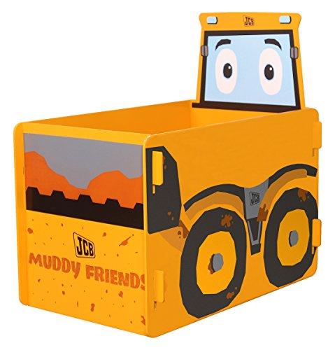 Kidsaw, JCB barro amigos Toy Box