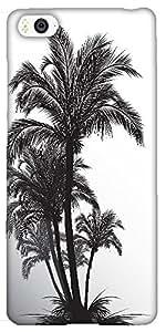 Snoogg tropical illustration Hard Back Case Cover Shield For Xiaomi Mi4i / Mi4I
