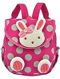Ruiying Rucksack Kinder, Schultasche Rot Hase für Kleinkinder von 1 Jahrige und Mehr, Kinderrucksack mit Sicherheitsleinen... preisvergleich bei kinderzimmerdekopreise.eu