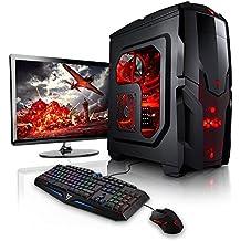 "Megaport PC-Gaming AMD FX-6300 • Schermo LED 22"" • Tastiera/Mouse • GeForce GTX1050Ti • 8GB DDR3 • Windows 10 • 1TB HDD • pc da gaming pc fisso desktop pc assemblato completo pc completo gaming …"