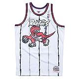 M&N NBA HWC Swingman Jersey - Tracy McGrady #1 T.Raptors Weiß Unisex M