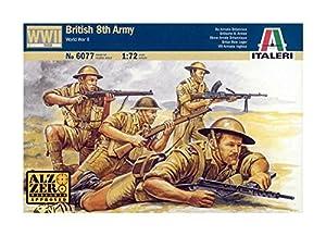 Italeri 6077S  - Ejército británico octavo (2ª Guerra Mundial)