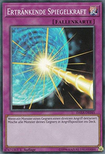 DASA-DE045 - Ertränkende Spiegelkraft - Super Rare - Yu-Gi-Oh - Deutsch - 1. Auflage