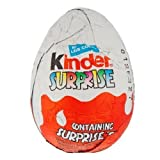Kinder Surprise - Huevo de Chocolate, 20g - Paquete de 36