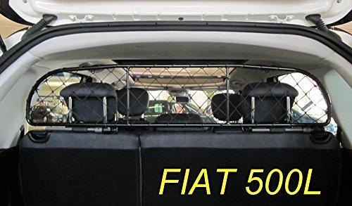 Divisorio Griglia Rete Divisoria per auto originale Ergotech RDA65-XS8, per trasporto cani e bagagli. Sicuro, confortevole, garantito!