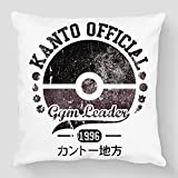 Cojín Pokémon Champion de toros – Kanto Official Gym Leader – Kanto Factory -