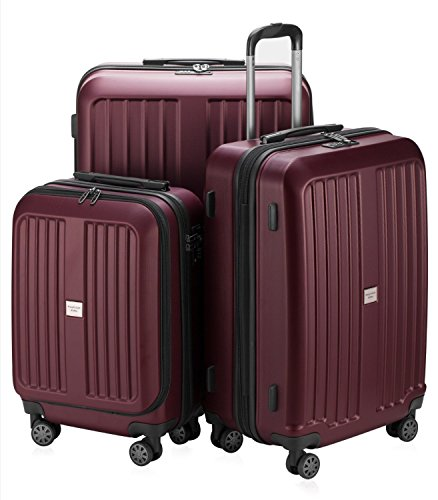 HAUPTSTADTKOFFER Sets de bagages, 260 L, Rouge avec TSA