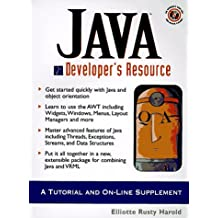 JAVA Developer's Resource: A Tutorial and On-Line Supplement (Resource Series)